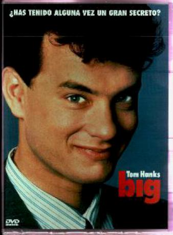 BIG TOM HANKS DVD
