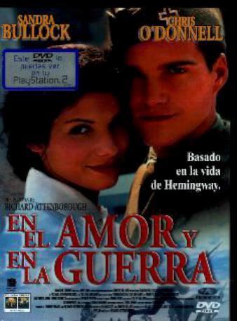 EN EL AMOR Y EN LA GUERRA DVD