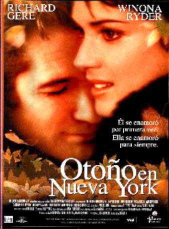 OTOÑO EN NUEVA YORK DVD_