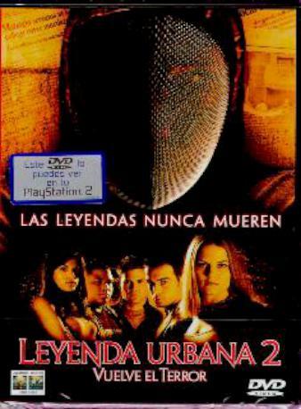 LEYENDA URBANA 2 DVD 2MA