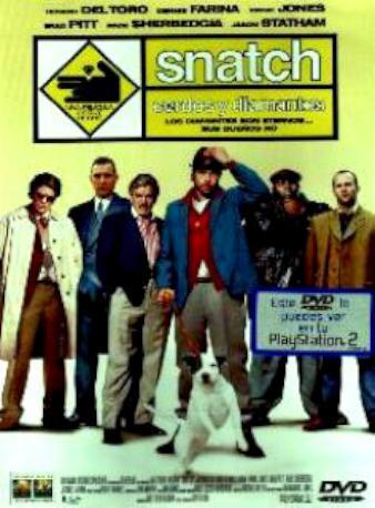 SNATCH DVD 2MA