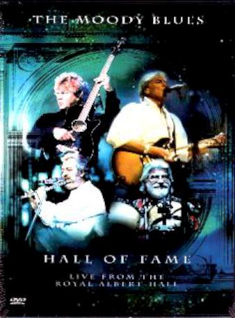 THE MOODY BLUES HALL OFF DVD