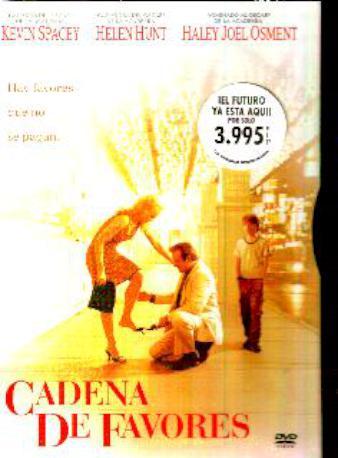 CADENA DE FAVORES DVD