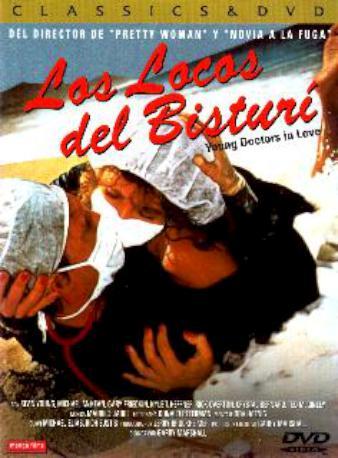 LOS LOCOS DEL BISTURI DVD