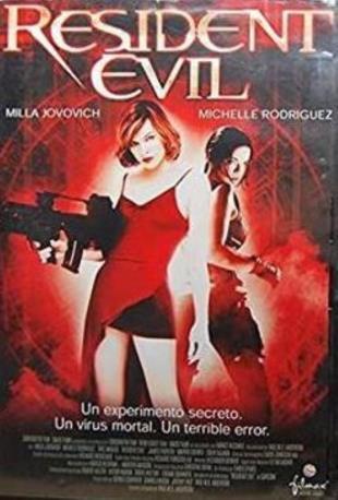 RESIDENT EVIL DVD 2MA