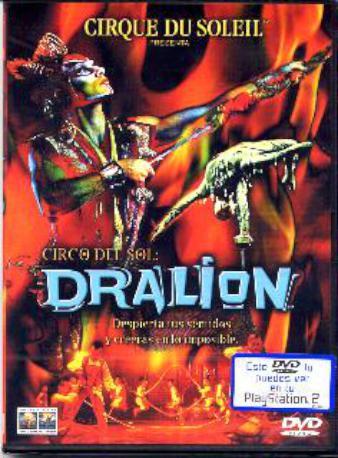 CIRCO DEL SOL DRALION DVD