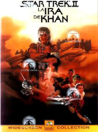 STAR TREK II LA IRA DE KH DVD