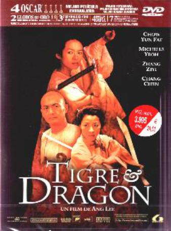TIGRE & DRAGON DVD