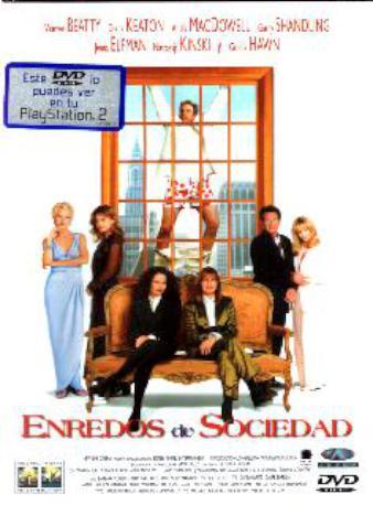 ENREDOS DE SOCIEDAD DVD