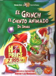 EL GRINCH EL CUENTO ANIMA DVD