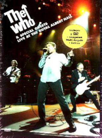 THE WHO & SPECIAL GUESTS DVDM