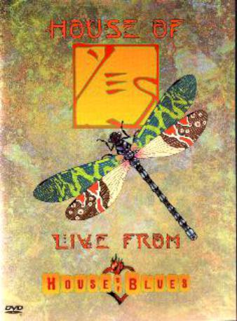 YES HOUSE OF YES LIVE DVD