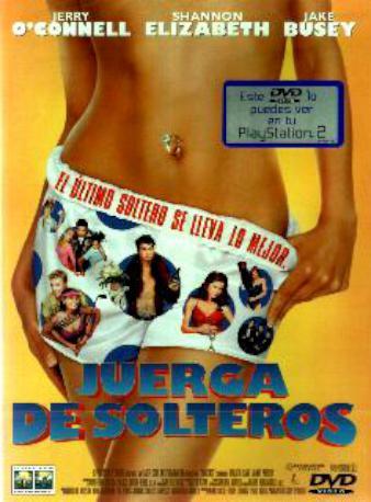 JUERGA DE SOLTEROS DVD