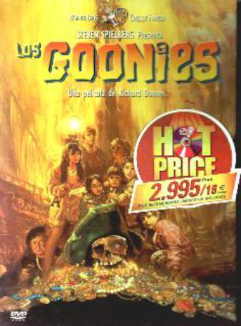 LOS GOONIES DVD
