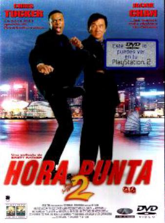 HORA PUNTA 2 DVD
