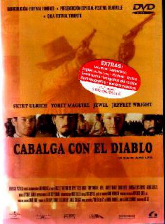 CABALGA CON EL DIABLO DVD