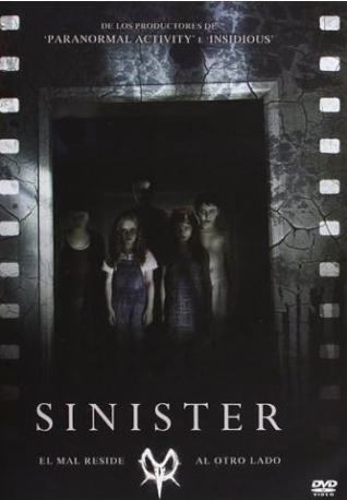 SINIESTRO DVD