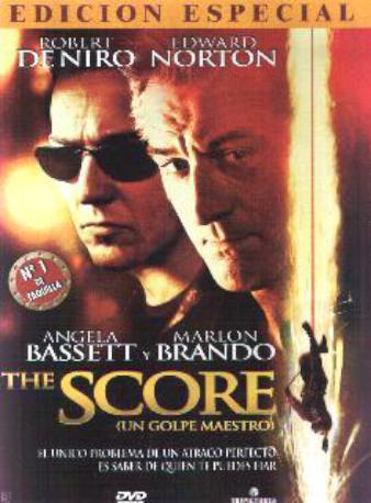 THE SCORE DVD LLOGUER