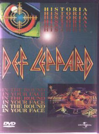 DEF LEPPARD HISTORIA DVD