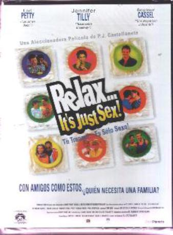 RELAX IT'S JUST SEX DVD