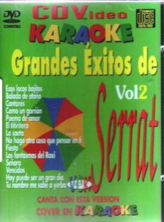 KARAOKE SERRAT VOL 2 DVDK