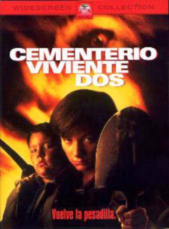 CEMENTERIO VIVIENTE 2 DVD