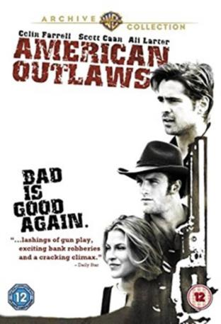 AMERICAN OUTLAWS DVD
