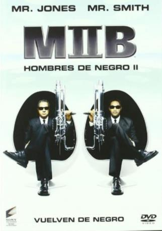 MEN IN BLACK 2 DVD 2MA