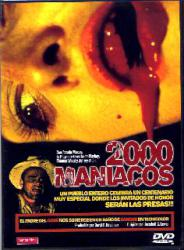 2000 MANIACOS DVD