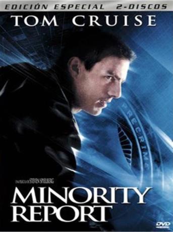 MINORITY REPORT DVD 2MA