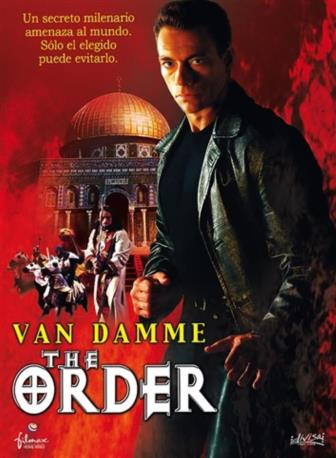 THE ORDER VAN DAMME DVD