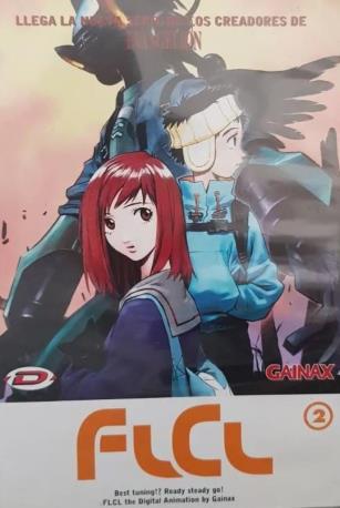 FLCL DVD 2MA