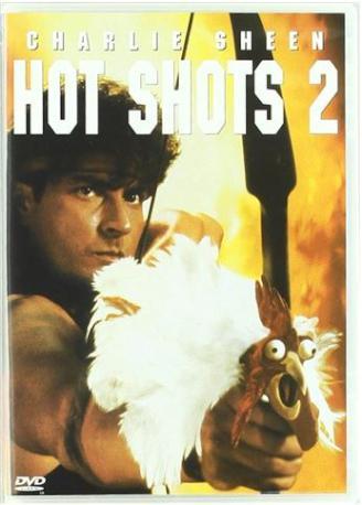 HOT SHOTS 2 DVD 2MA