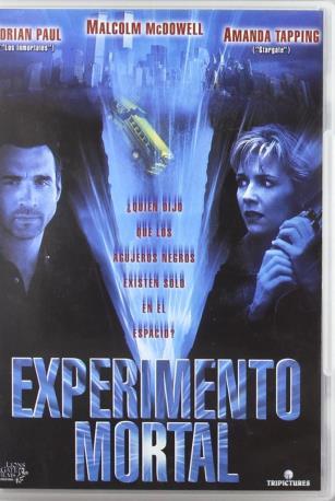 EXPERIMENTO MORTAL DVD