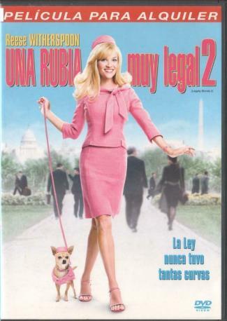 UNA RUBIA MUY LEGAL 2 DVD