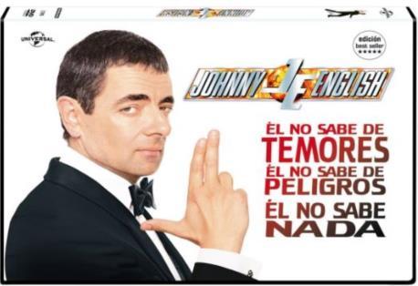 JOHNNY ENGLISH DVD 2MA