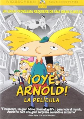 OYE ARNOLD LA PEL DVD