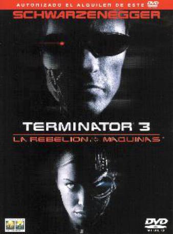 TERMINATOR 3 DVD LLOGUER