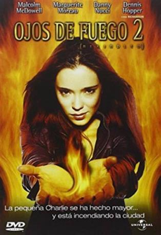 OJOS DE FUEGO 2 DVD