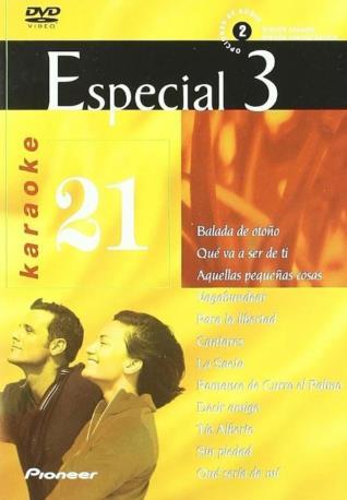 ESPECIAL 3 VOL 21 DVDK