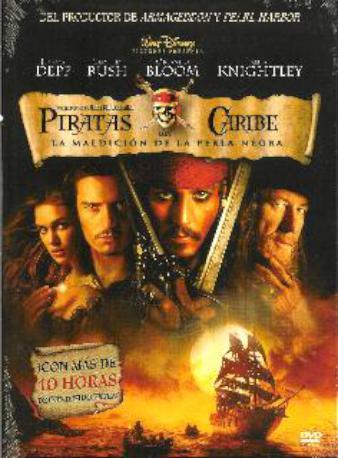 PIRATAS DEL CARIBE DVD