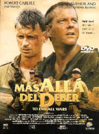 MAS ALLA DEL DEBER DVD