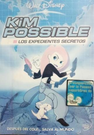 KIM POSSIBLE LOS EXDVD
