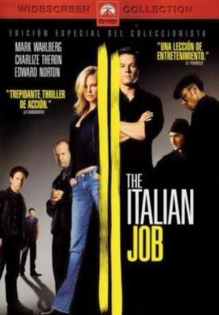 THE ITALIAN JOB DVDL