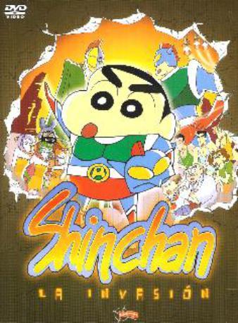 SHINCHAN LA INVASION DVD