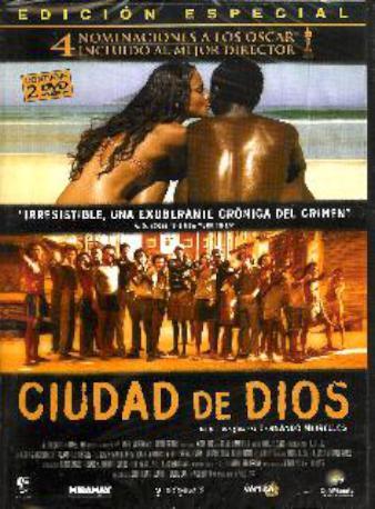 CIUDAD DE DIOS DVD