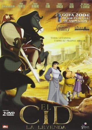 EL CID LA LEYENDA DVD 2MA