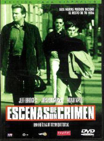 ESCENAS DE UN CRIMEN DVD