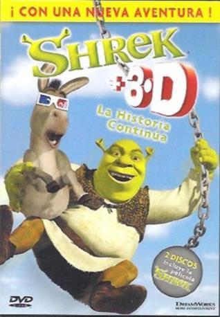 SHREK+3.D LA HISTORIA DVD 2MA