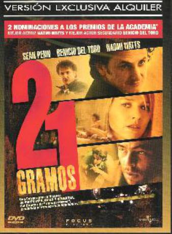 21 GRAMOS DVDL